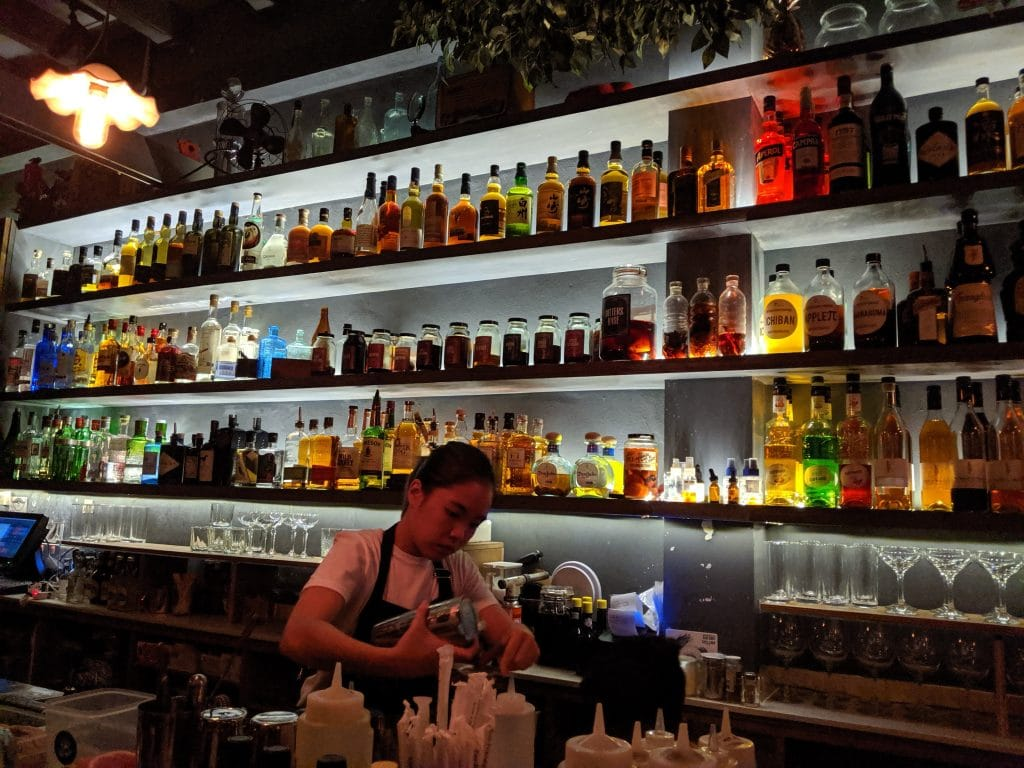 bitters and love cocktail bars in singapore with amazing service