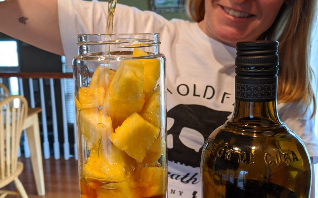 How to Make Pineapple Infused Rum
