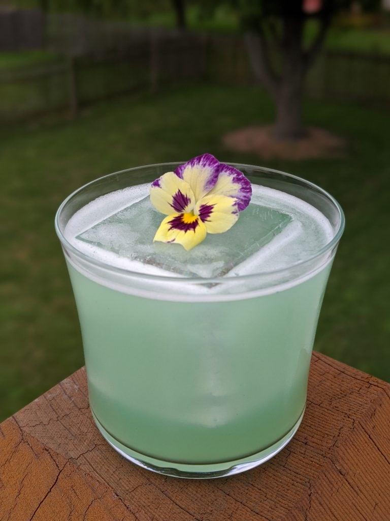 vegan cocktails tropical paradise