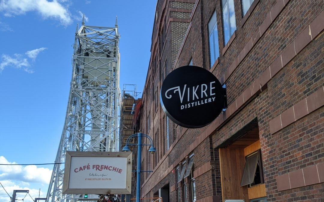 A Visit to Vikre Distillery on the Shores of Lake Superior