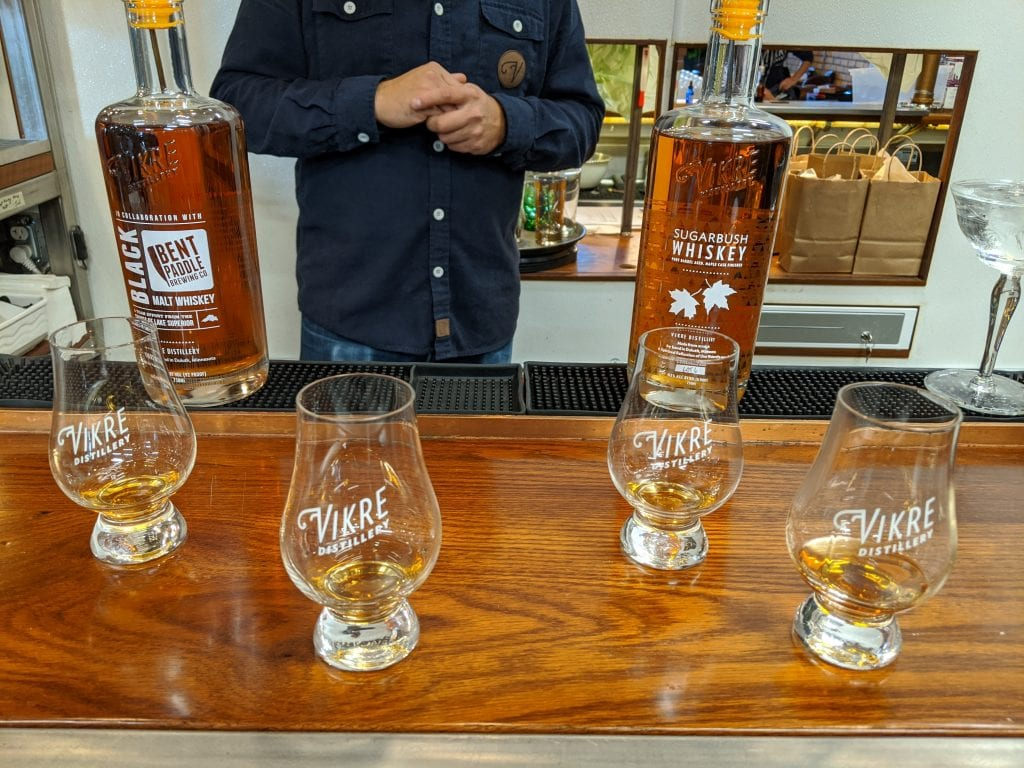 distillery in duluth vikre whiskey