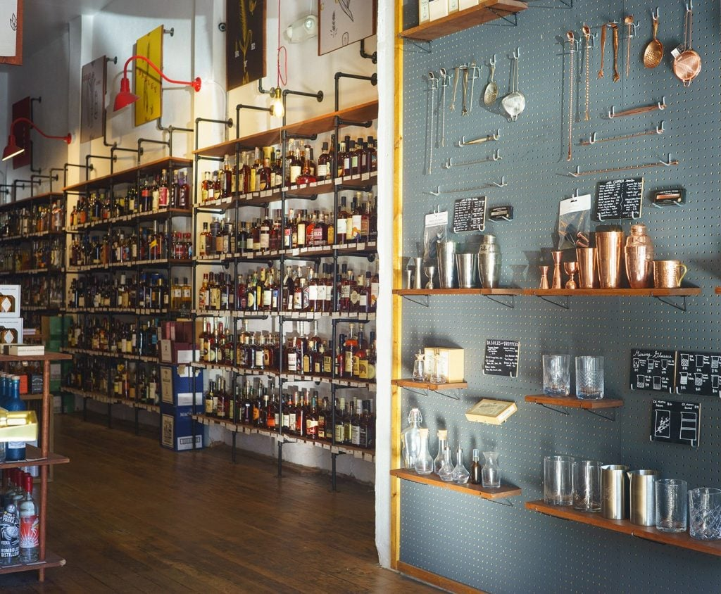 cocktail shops in san francisco bitters and bottles