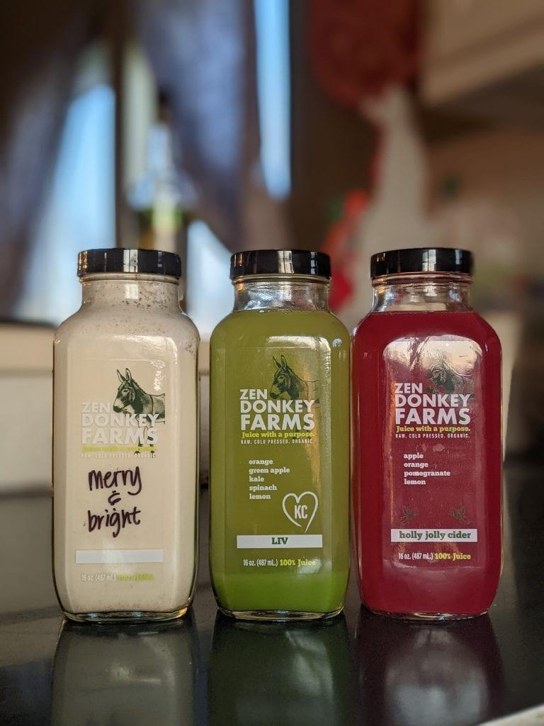 vegan holiday juices and hemp mylk
