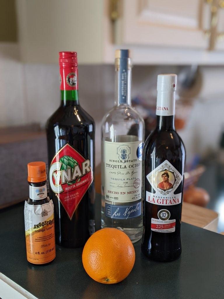 citrus cocktails latin trifecta ingredients