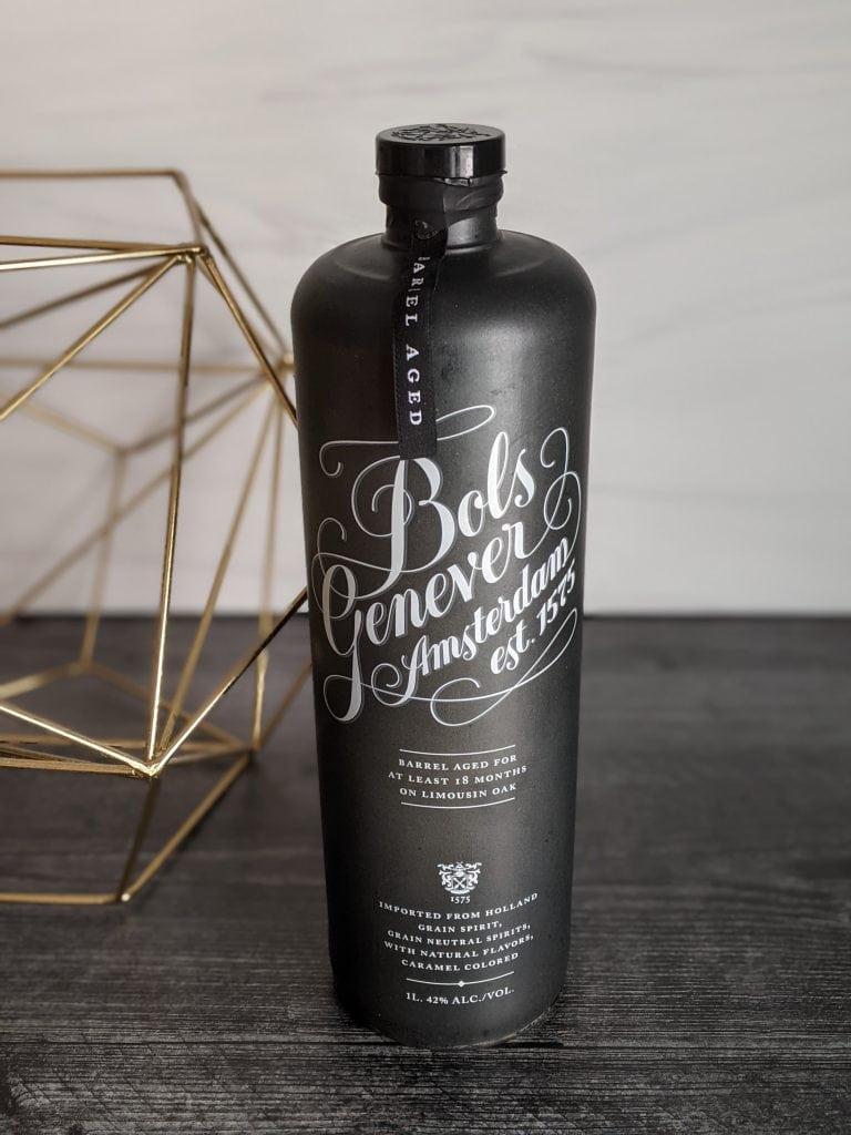 bottle of aged bols genever