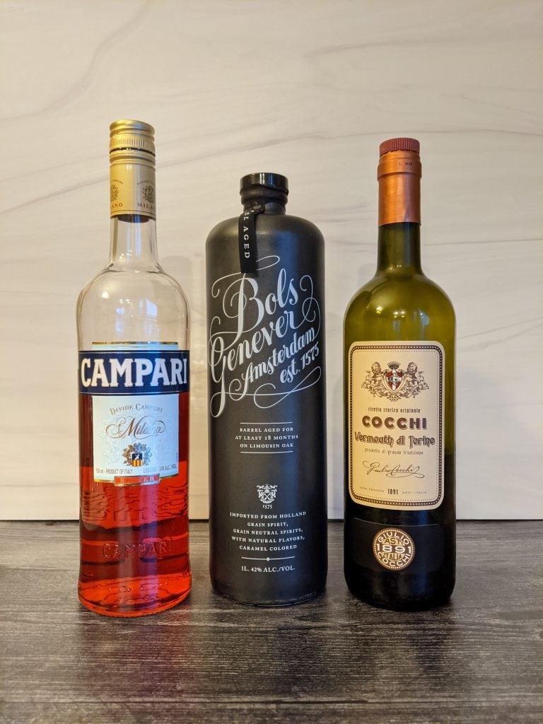 bols genever cocktail #2 ingredients