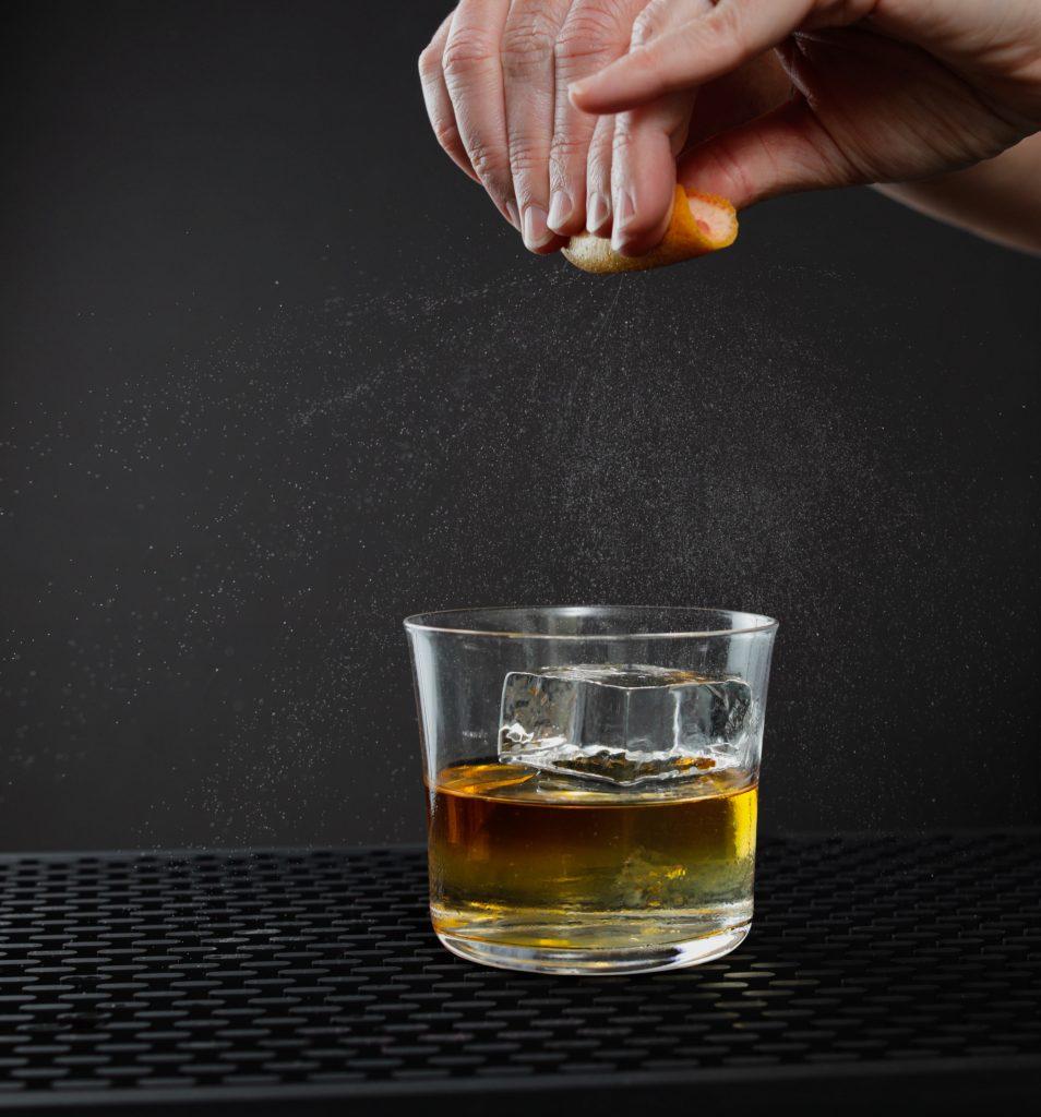 citrus zest shot