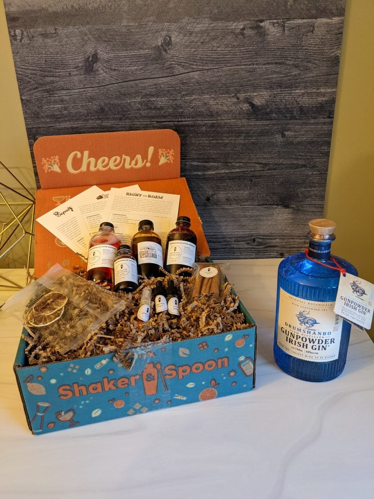 January 2021 Review of Shaker & Spoon Ginuary Box