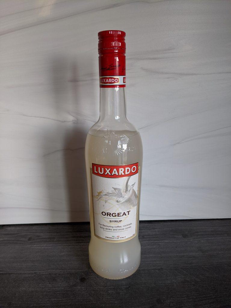 cocktail mixers orgeat bottle