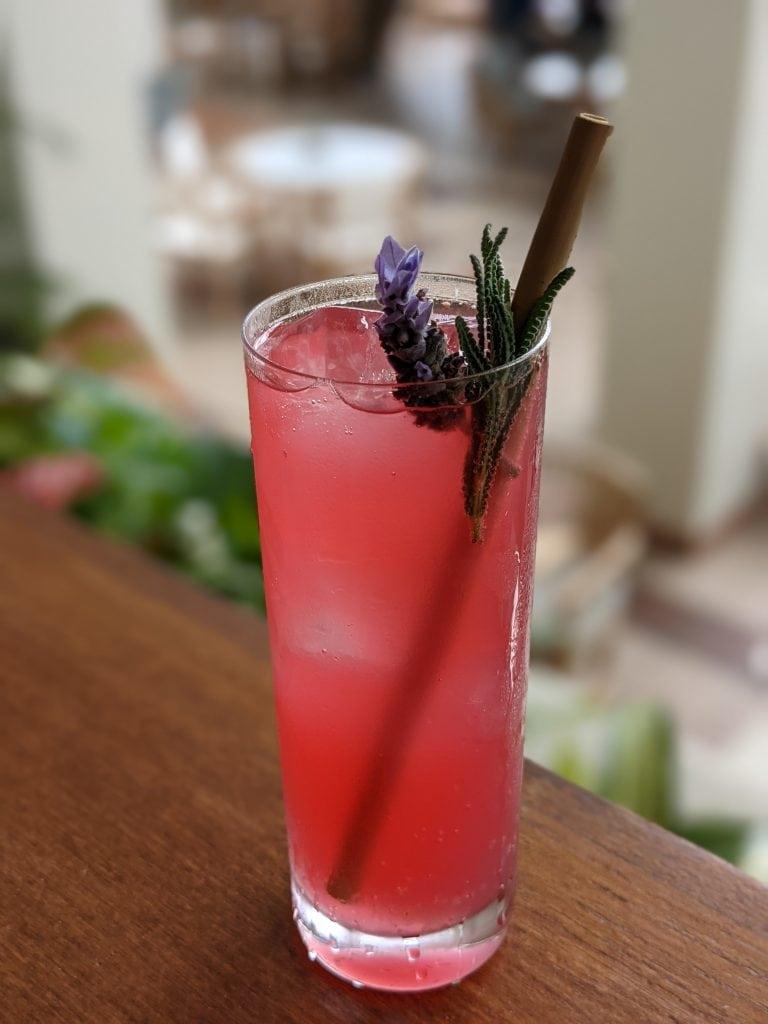 bars in oahu cocktail at hau tree
