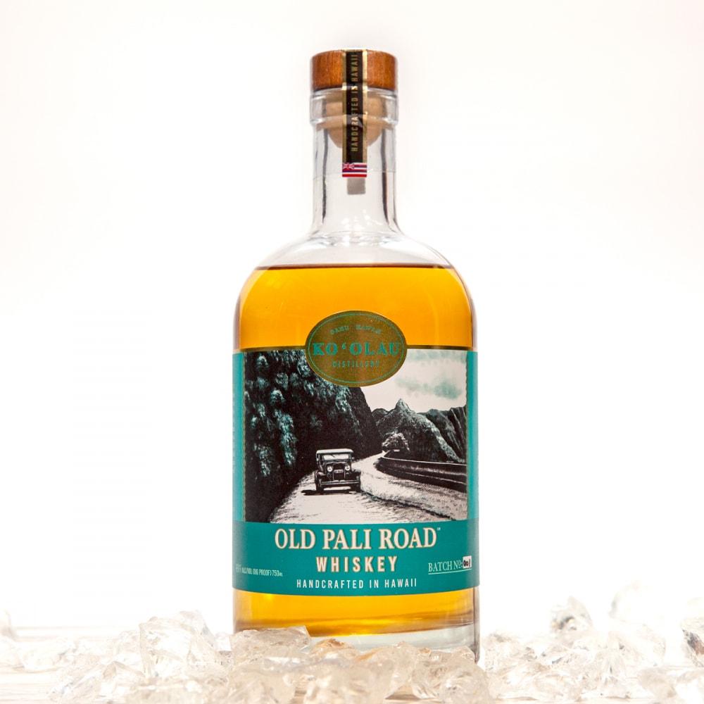 hawaiian distilleries ko'olau bottled whiskey