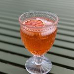 aperol cocktail with tequila and grapefruit