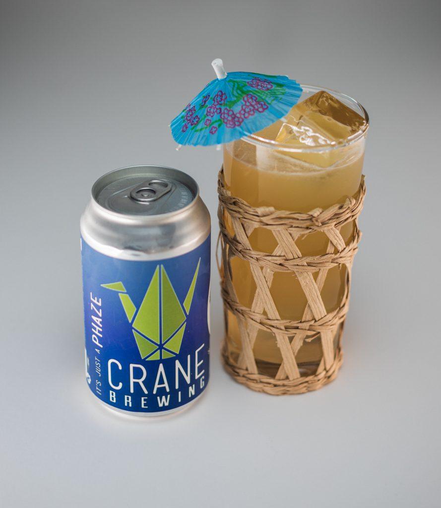 beer cocktails Mai Tai-IPA with umbrella