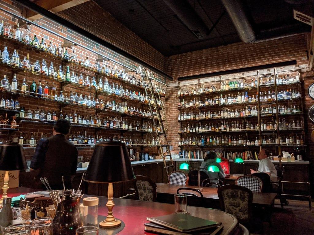walls of multnomah bars in portland oregon