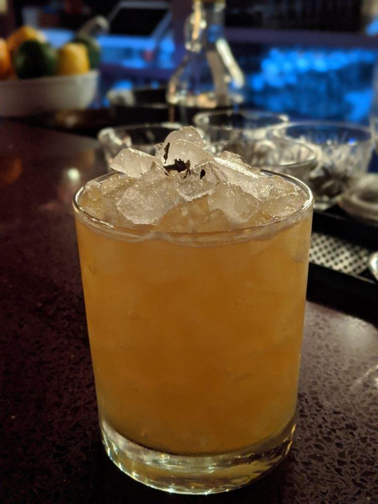 cocktail at voysey bars in portland oregon