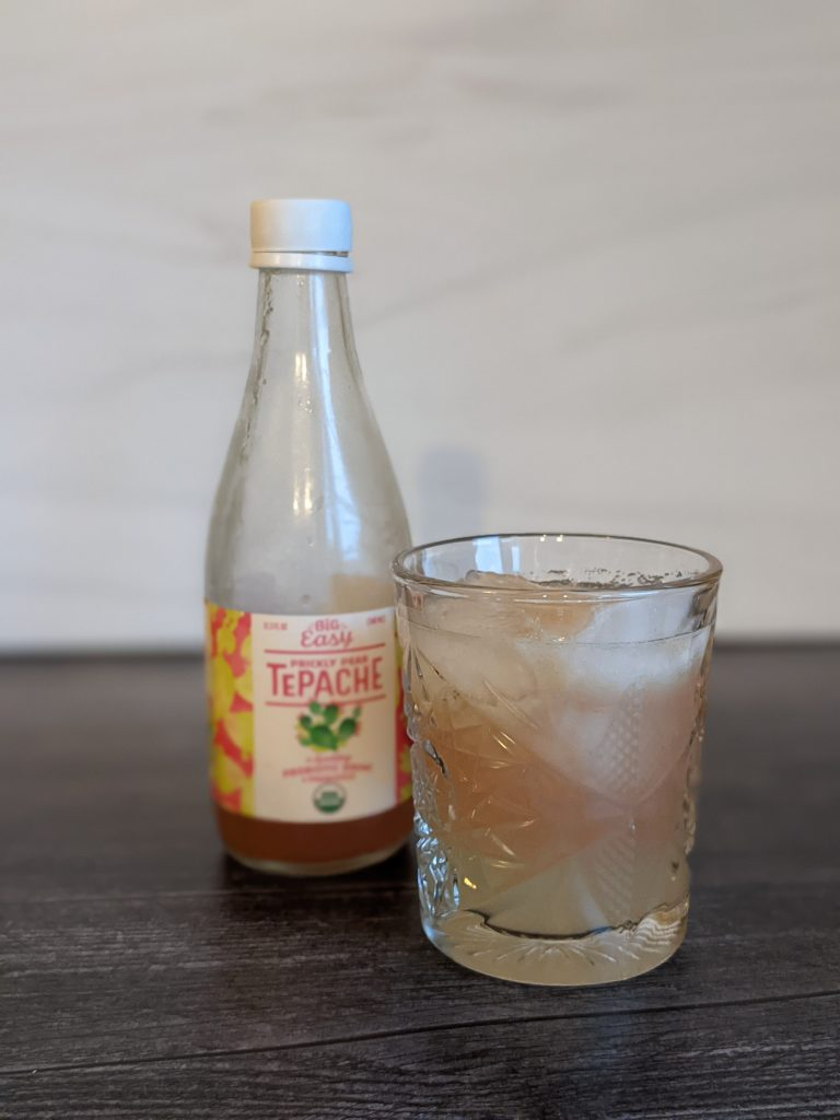 tepache cocktails margarita in a glass