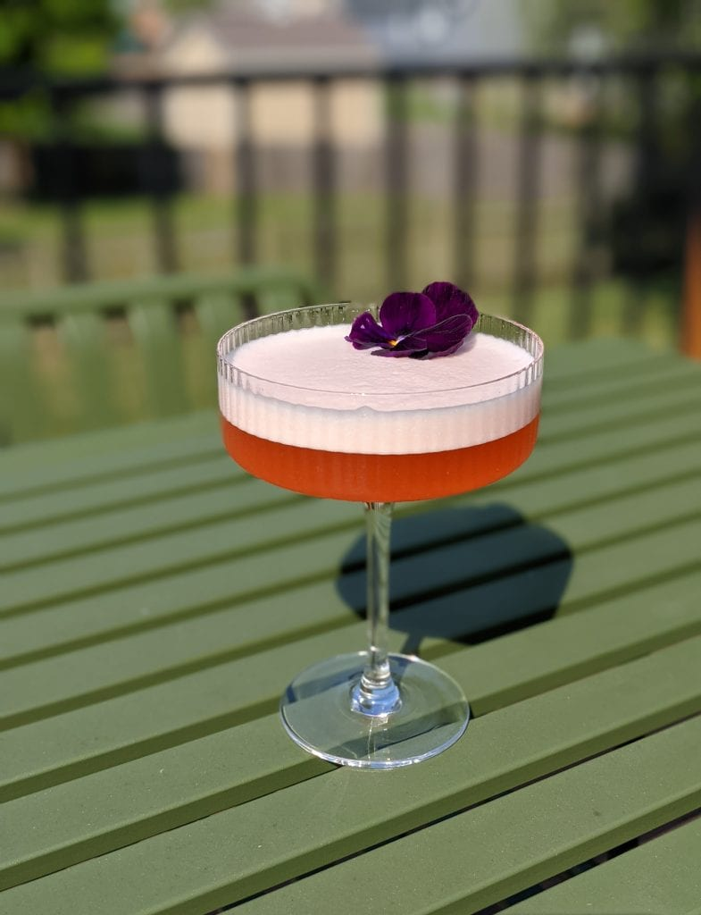 aperol gin cocktail sour