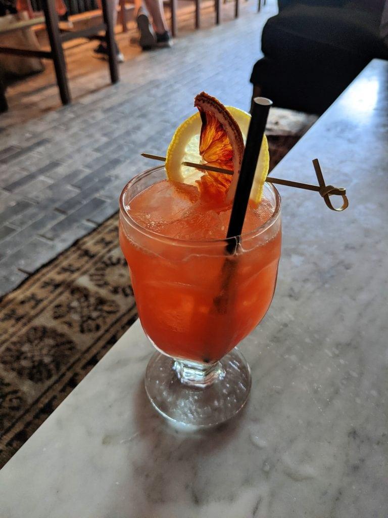 drinks in charleston frannie & the fox