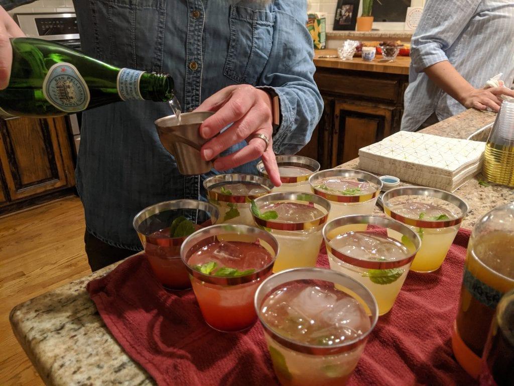 pre-made mojito bar
