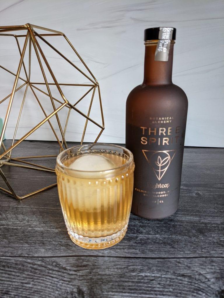 nightcap mule with three spirit drinks