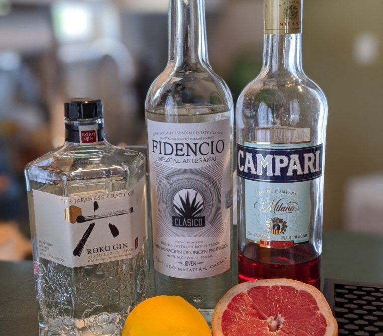 How to Make a Ruby Diamond: A Gin Mezcal Cocktail